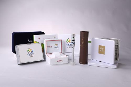 奥运会钱币包装图